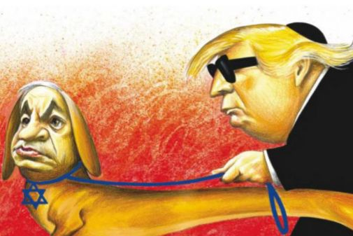 La caricatura que fue publicada en abril y ha causado polémica.