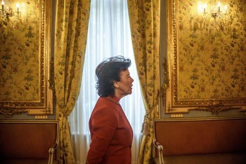 La ministra de Educación en funciones, Isabel Celaá.