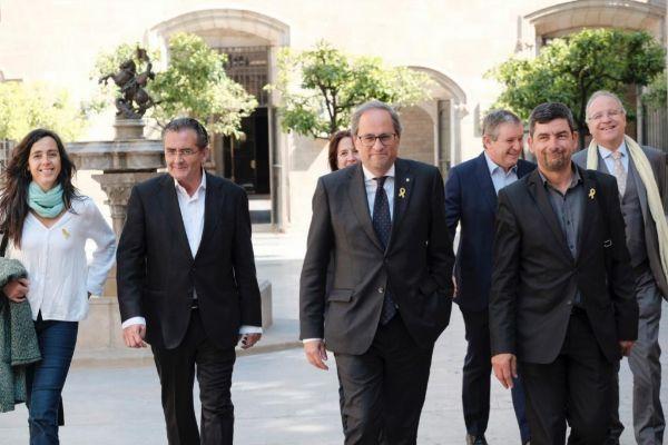 Jordi Soteras Catalunya Barcelona 20/05/2019 Reunion del presidente de...