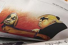 """El New York Times dejará de hacer caricaturas políticas tras la publicación de un dibujo """"antisemita"""""""