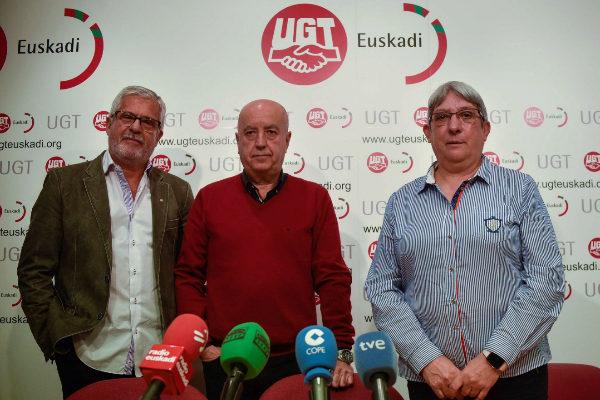 Gonzalo Pino, Raúl Arza y Maribel Ballesteros.