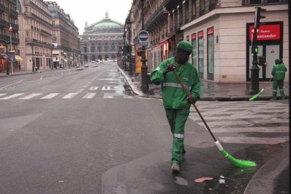 En Pentecostes y La Ascensión, París se queda vacía.