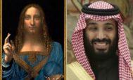 El 'Salvator Mundi', adjudicado a Da Vinci por muchos expertos, y el príncipe Bin Salman