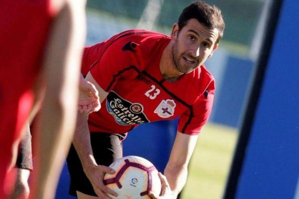 El jugador del Deportivo Íñigo López.