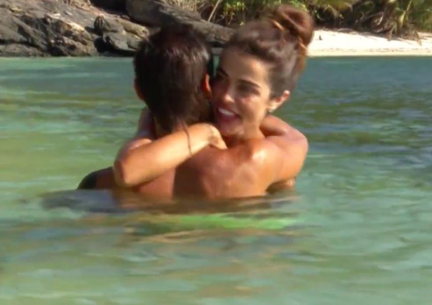 Los concursantes Violeta Mangriñán y Fabio Colloricchio han vuelto a...