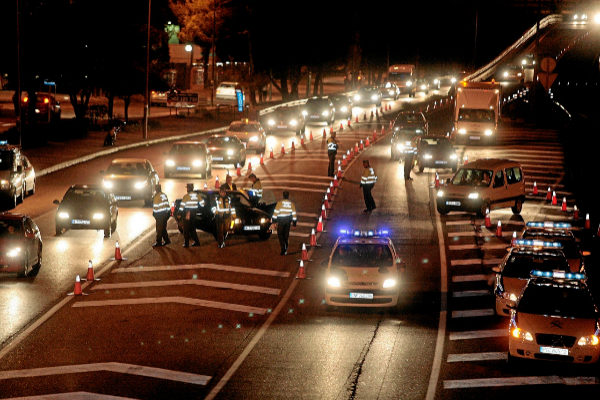 Detenido un youtuber por circular a 228 km/h con un Lamborghini