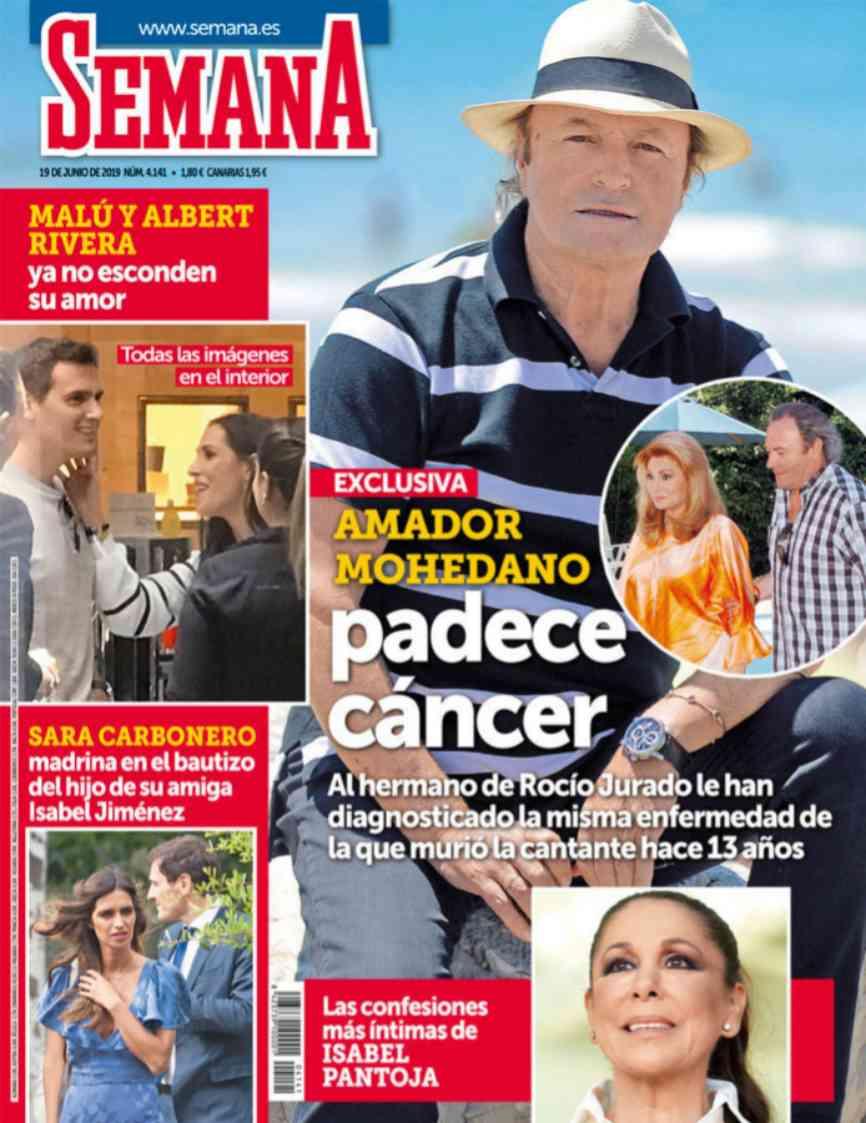 Trece años después de la muerte de Rocío Jurado, su hermano, Amador...