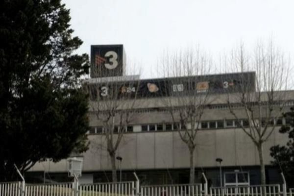 Edificio que alberga TV3 en Sant Joan Despí