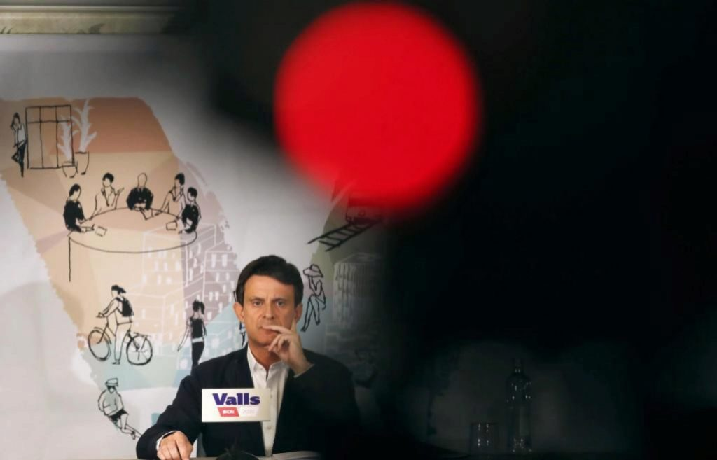 Valls en mallas