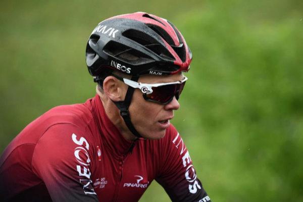 Chris Froome, durante la Dauphiné.