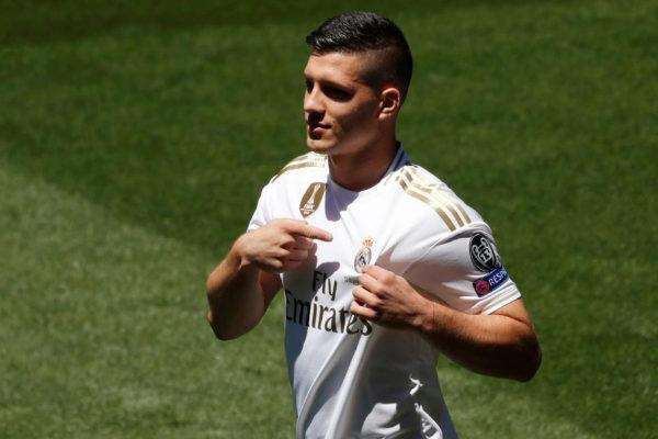 Real Madrid Unveil Luka <HIT>Jovic</HIT>