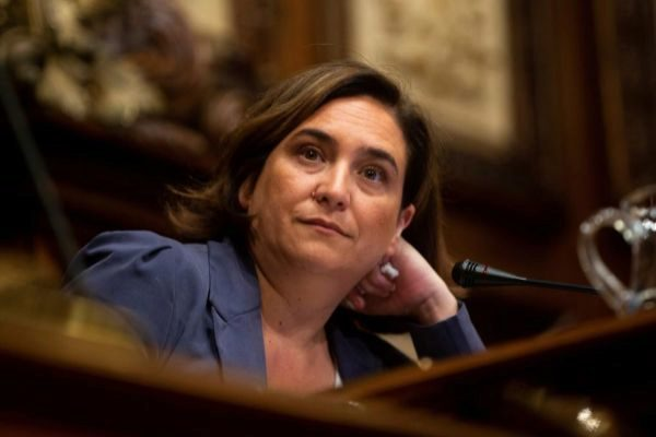 La alcaldesa en funciones de Barcelona, Ada Colau.