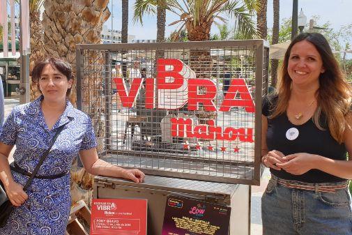 Carolina Rodríguez y Joana Alonso presentaron 'Vibra'.