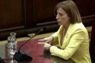 Carme Forcadell, durante el juicio.