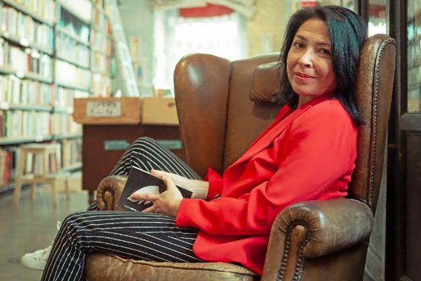 La libera sevillana Belén Rubiano, autora de 'Rialto, 11'.