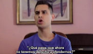 Un momento del vídeo de David Suárez en Twitter contra los...