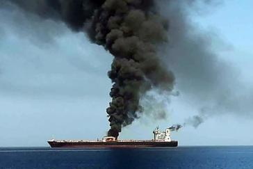 Crece la tensión en la región tras el ataque a dos petroleros en el Golfo de Omán