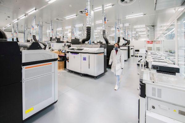 Interior de las nuevas instalaciones de 3D en Barcelona.