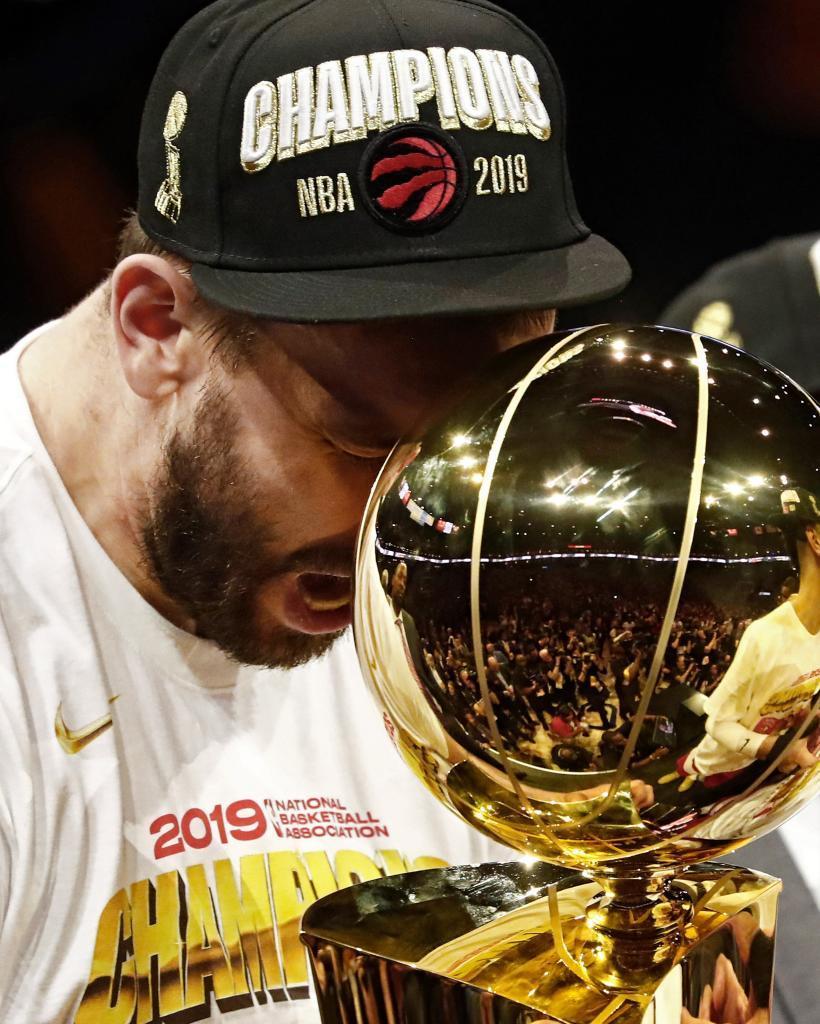 Las mejores imágenes de la celebración de los Toronto Raptors