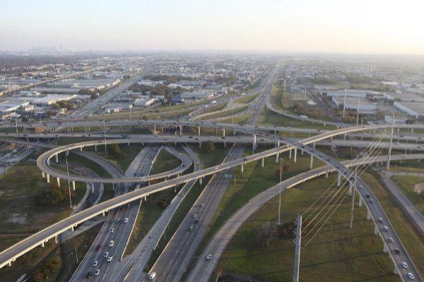 Una autopista del  grupo Ferrovial en Dallas (Texas).