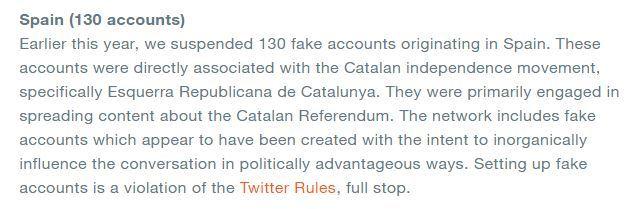 Informe de Twitter