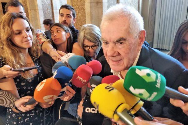 El candidato a la Alcaldía de Barcelona por ERC, Ernest Maragall