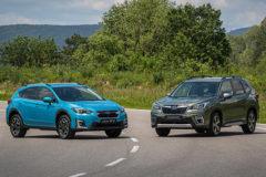 Subaru Forester y la versión híbrida del XV confoman la gama ECO.