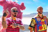 J Balvin y DJ Snake en el vídeo de Loco Contigo, el nuevo single del...