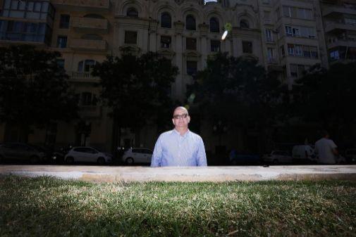 Luis Miguel Sánchez, autor de 'Barrac-Alacant 2019'.