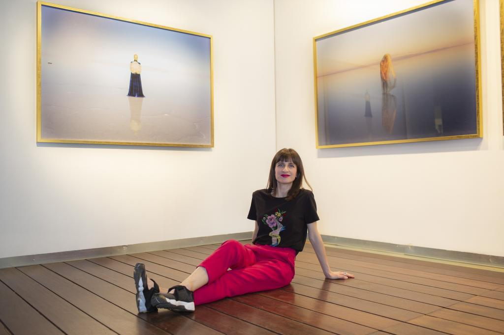 La artista Soledad Córdoba.