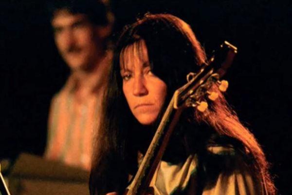 La guitarrista Laura Aymerich, durante una actuación.
