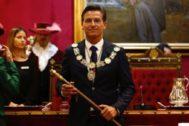 Luis Salvador (Ciudadanos), nuevo alcalde de Granada.
