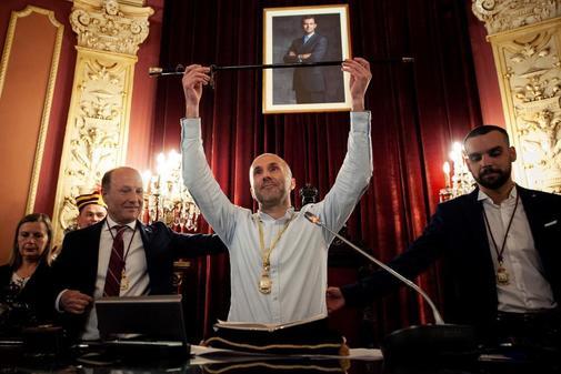 Gonzalo Pérez Jácome, de Democracia Ourensana, nuevo alcalde de Orense