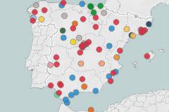 El mapa de las nuevas alcaldías