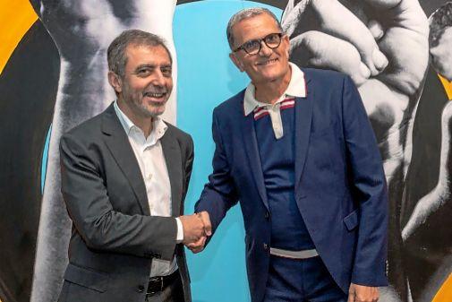 Manuel Borja-Villel, director del Museo Reina Sofía, y José Miguel Cortés, director del IVAM.