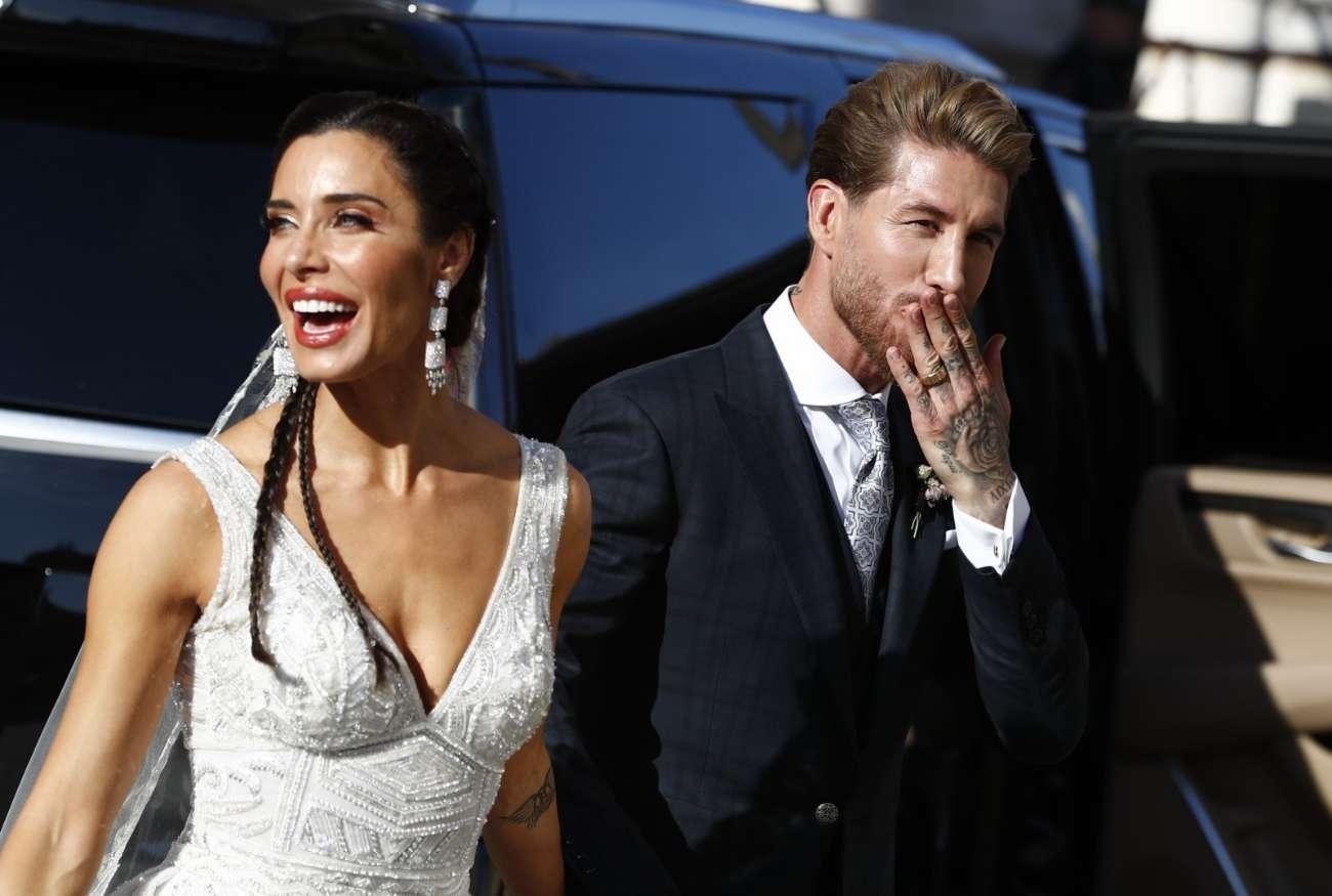 Sergio Ramos y Pilar Rubio, como marido y mujer