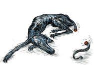 Sánchez y el perro de Alcibíades