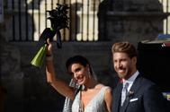 Pilar Rubio y Sergio Ramos, recién casados