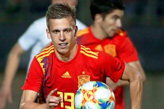 Dani Olmo, internacional español Sub-21.