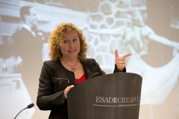 Sara Berbel, nueva gerente del Ayuntamiento de Barcelona, en una imagen de archivo.