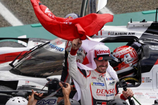 Le Mans (France).- <HIT>Fernando</HIT> <HIT>Alonso</HIT> of Spain, one...