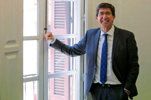 Juan Marín, líder de Cs en Andalucía y vicepresidente de la Junta.