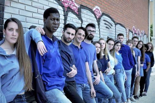 Els alumnes d'Escena Erasmus.