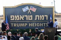 Netanyahu y el embajador de EEUU David Friedman presentan la nueva laca.