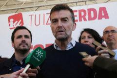 El coordinador de IU en Andalucía, Antonio Maíllo, anuncia que abandona la política