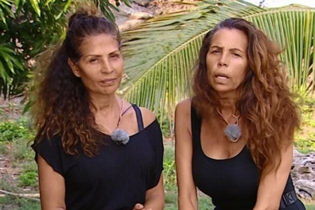 Las Azúcar Moreno durante su paso por Supervivientes 2019, programa...
