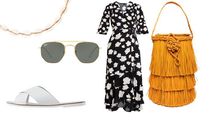 Look Del Lunes Con Vestido Veraniego Moda