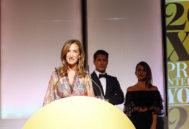 En la ceremonia del año pasado, acompañada de Jaime Cantizano y Carme Chaparro/ Foto: Sergio Enríquez-Nistal