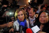 La socialdemócrata y ex primera dama de Guatemala, Sandra Torres.