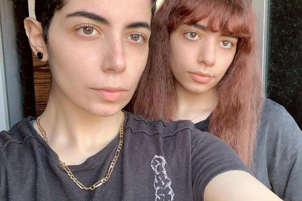 Dua y Dalal al Shweiki, las dos hermanas saudíes que huyen de su familia.